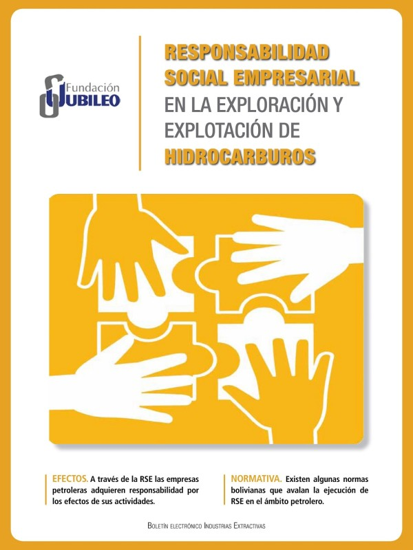 Boletín: Responsabilidad Social Empresarial en la Exploración y Explotación de Hidrocarburos