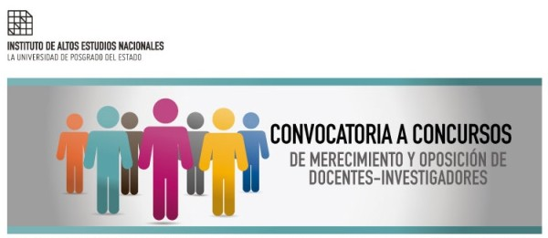Convocatoria a Concursos de Merecimiento y Oposición de Docentes-Investigadores