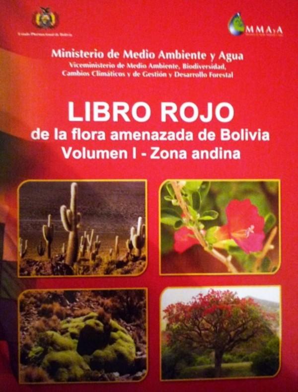 Libro Rojo de la Flora amenazada de Bolivia