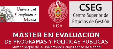 Abierto plazo de inscripción Máster Evaluación de Programas y Políticas Públicas (2016-2017)