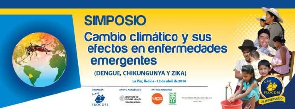 """La Red PROCOSI organizó el Simposio sobre: """"Cambio climático y sus efectos en enfermedades emergentes"""" (dengue, chikungunya y zika)"""