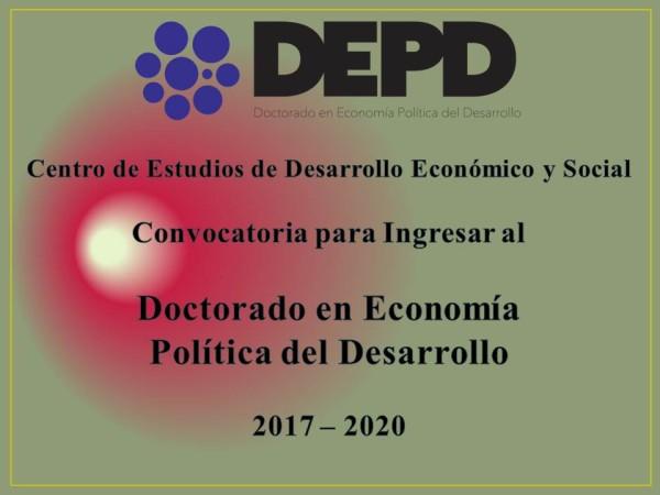Doctorado en Economía Política del Desarrollo. Benemérita Universidad Autónoma de Puebla, México