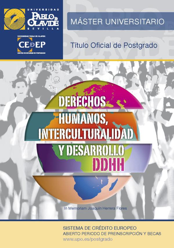 Máster en Derechos Humanos, Interculturalidad y Desarrollo