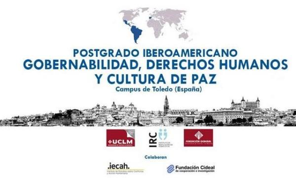 IV Edición del Postgrado Iberoamericano en Gobernabilidad, DDHH y Cultura de Paz