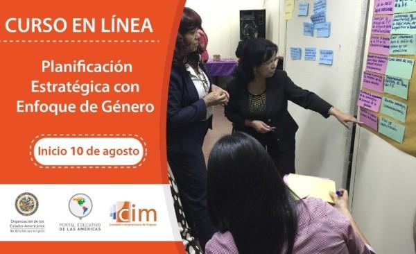 Nuevo Curso en Línea: Planificación Estratégica con Enfoque de Género