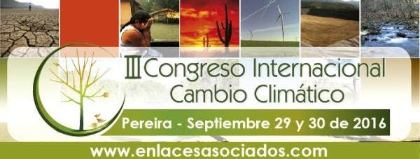 """III Congreso Internacional Cambio Climático """"Impactos, Adaptación, Vulnerabilidad"""""""