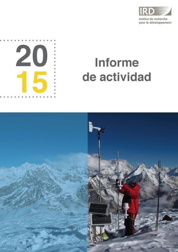 Informe de actividades del IRD 2015