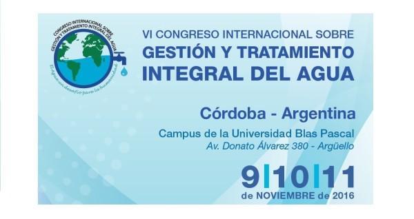 VI Congreso Internacional sobre Gestión y Tratamiento Integral del Agua