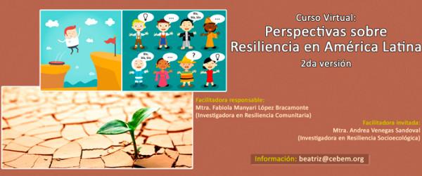 Curso Virtual: Perspectivas sobre resiliencia en América Latina (2da Versión)