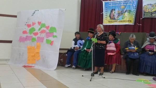 III Cumbre Nacional Mujeres Defensoras de la Madre Tierra