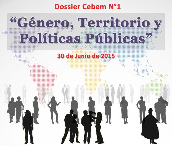Dossier Cebem N°1: Género, Territorio y Políticas Públicas