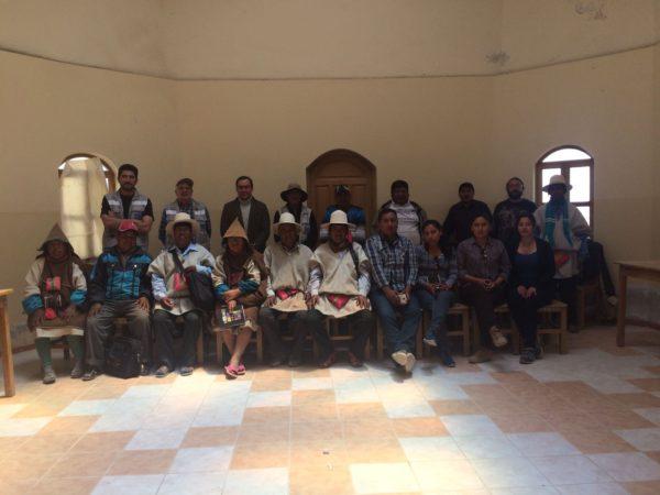 Dialogo entre Universidad Técnica de Oruro (UTO), Universidad de Castilla de la Mancha (UCLM) España y la Autonomía Originaria de Chipaya