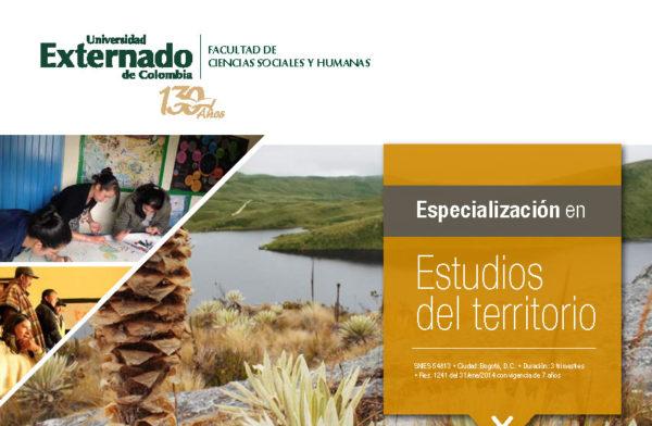 Postgrados en Estudios del Territorio - Universidad Externado de Colombia