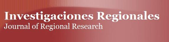 Investigaciones Regionales - Journal of Regional Research- Número 36