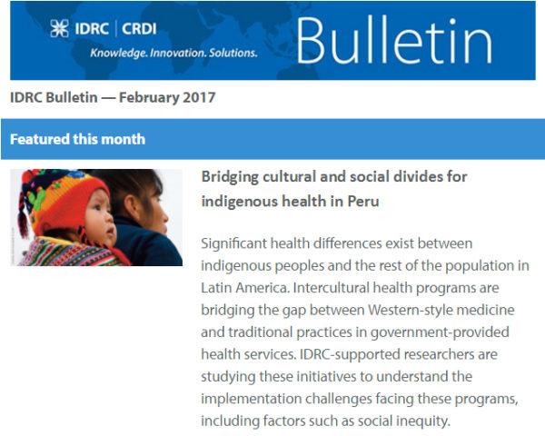 IDRC Bulletin CRDI #116