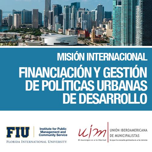 Misión Internacional sobre Financiación y Gestión de Políticas Urbanas de Desarrollo