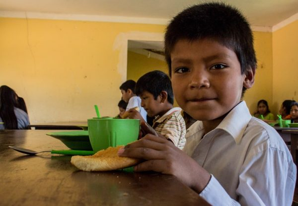 School meals can contribute to end malnutrition