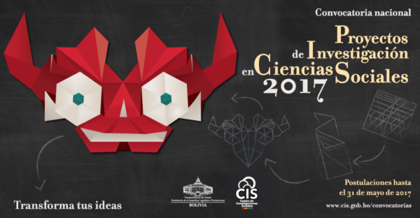 Convocatoria Nacional Proyectos de Investigación en Ciencias Sociales 2017
