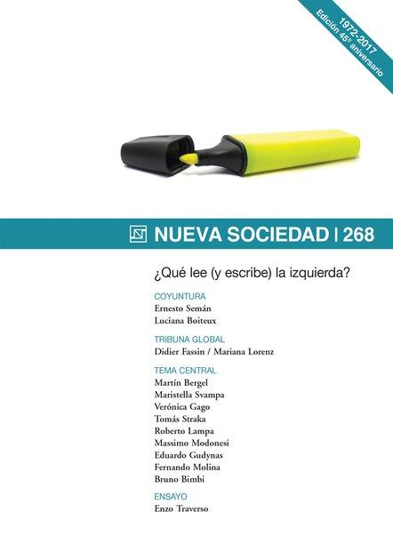 Nueva Sociedad 268. ¿Qué lee (y escribe) la izquierda?