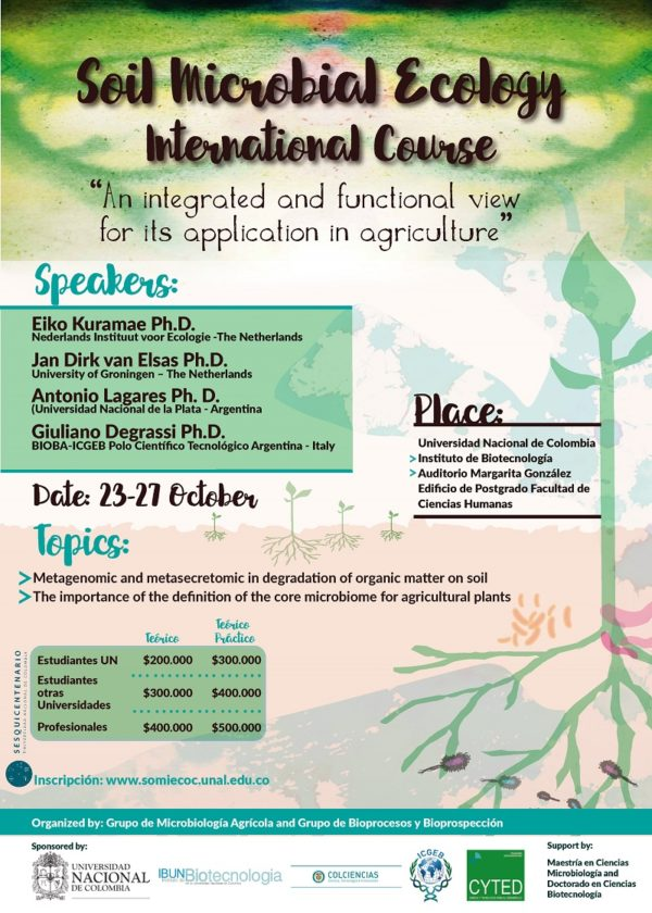 Invitacion Curso Internacional de Ecologia Microbian