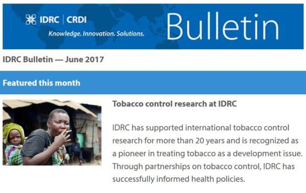 IDRC Bulletin CRDI #120