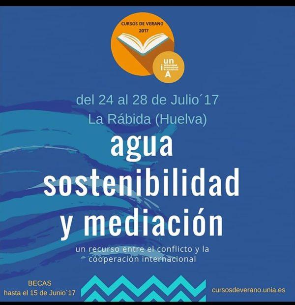 Curso: Agua, sostenibilidad y mediación: un recurso entre el conflicto y la cooperación internacional