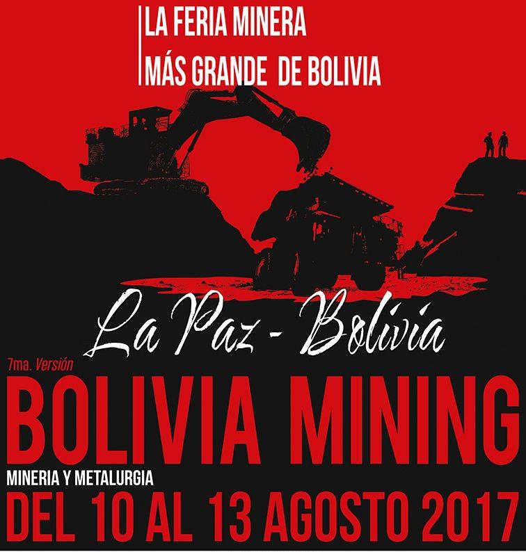 Resultado de imagen para Expo Bolivia Minera 2017
