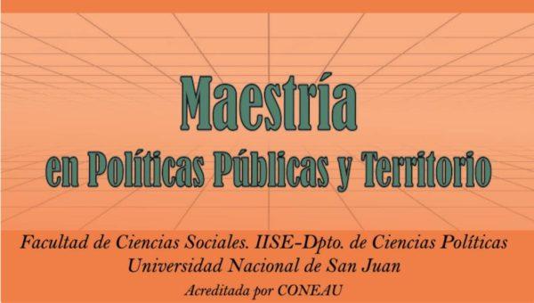 Maestría en Políticas Públicas y Territorio