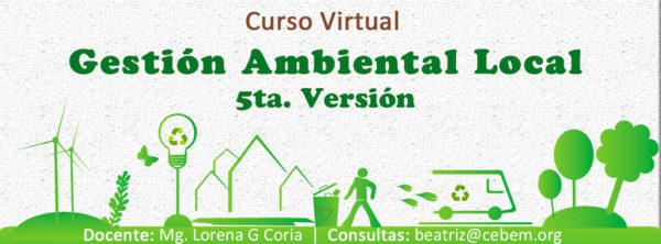Curso Virtual: Gestión Ambiental Local (5ta Versión)