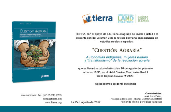 Presentación Revista Cuestión Agraria