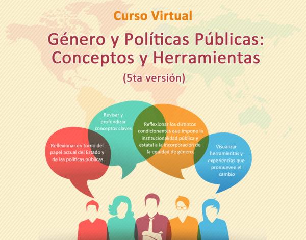 Curso Virtual: Género y Políticas Públicas: Conceptos y Herramientas (5ta versión)