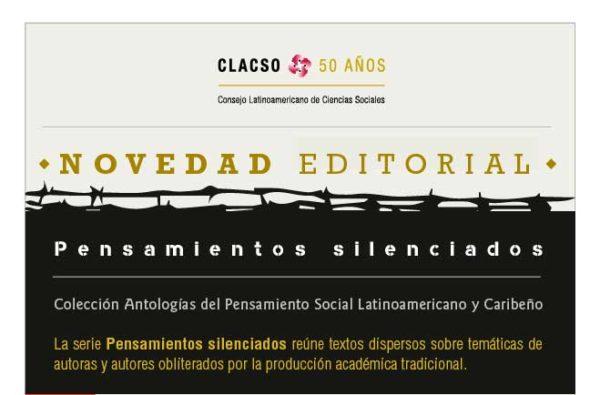 Serie Pensamientos silenciados - CLACSO