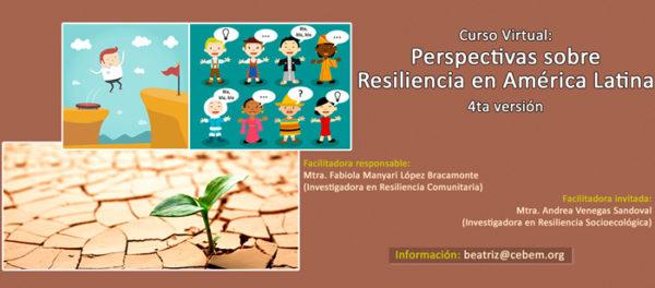 Curso Virtual: Perspectivas sobre resiliencia en América Latina (4ta Versión)