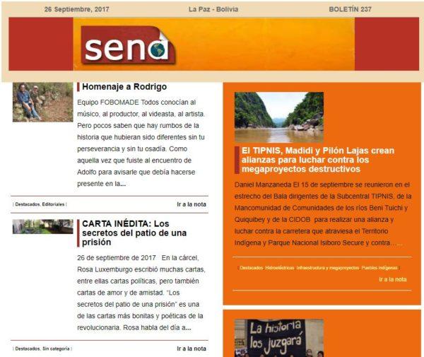 SENA 237 Servicio de Noticias Ambientales