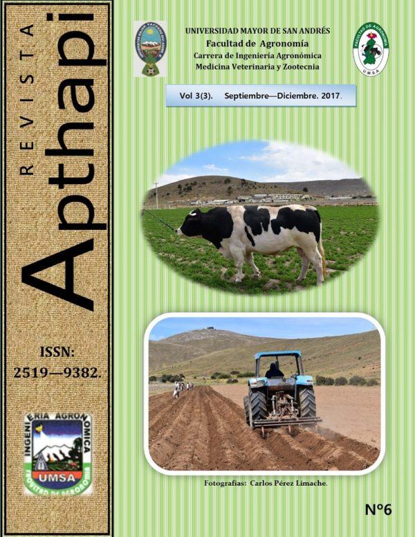 Revista Apthapi Vol.3 Nº3 2017