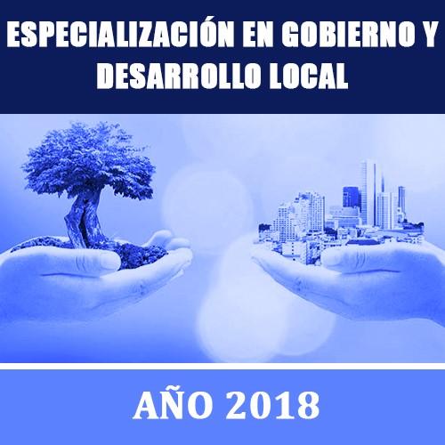 Especialización en Gobierno y Desarrollo Local