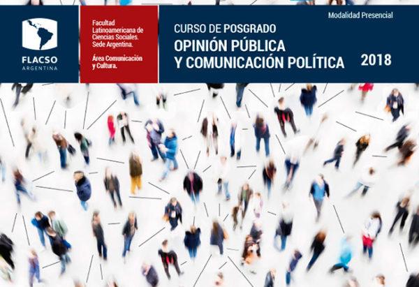Posgrado Opinión Pública y Comunicación Política 2018