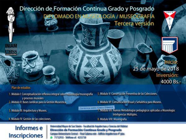 Diplomado en Museología/Museografía, 3ª versión