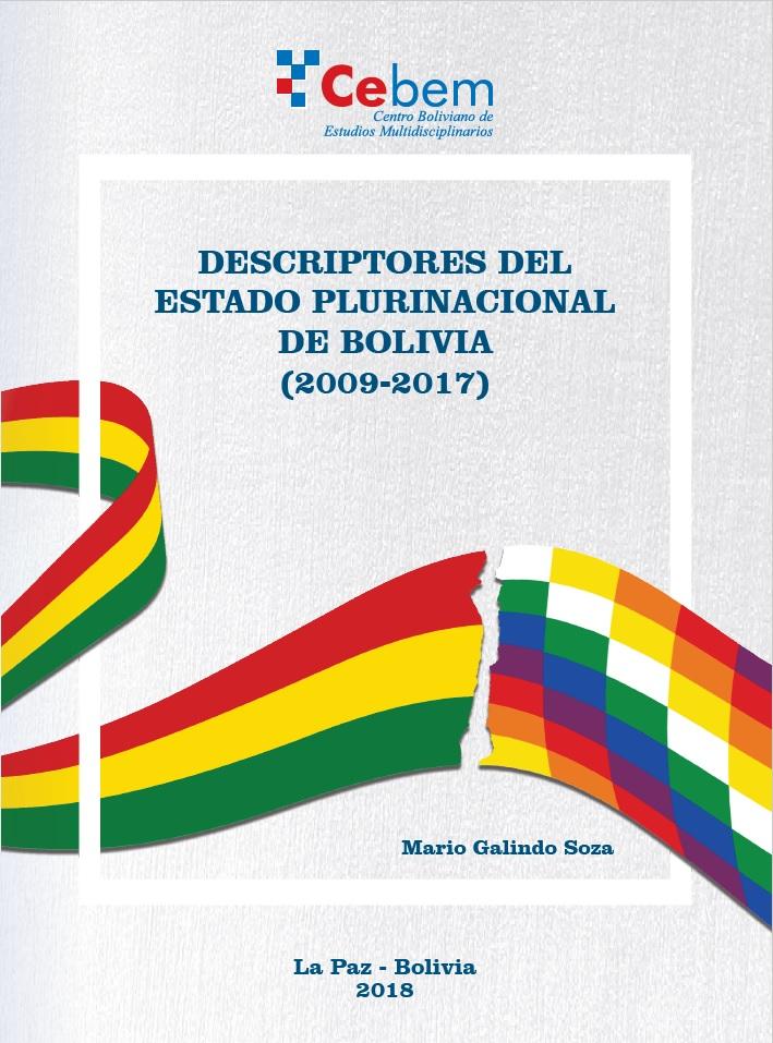 Descriptores Del Estado Plurinacional De Bolivia 2009 2017