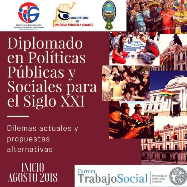Diplomado en Políticas Públicas y Sociales para el Siglo XXI
