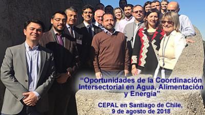"""Materiales de la Reunión de Trabajo """"Oportunidades de la coordinación intersectorial en agua, alimentación y energía"""""""