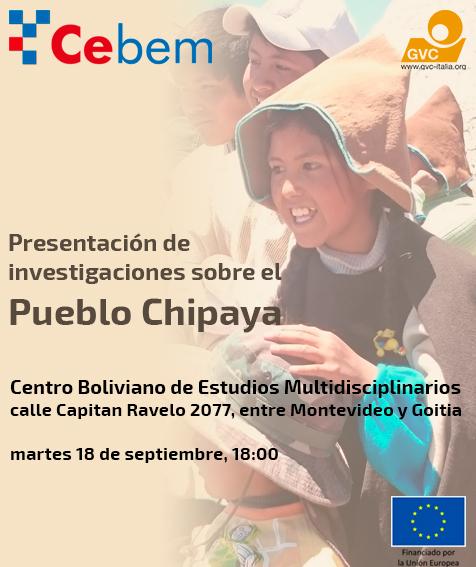 Presentación de investigaciones sobre el Pueblo Chipaya