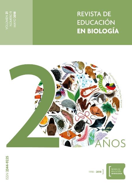 Revista de Educación en Biología - Vol 21 [Boletín de noticias de ADBiA]
