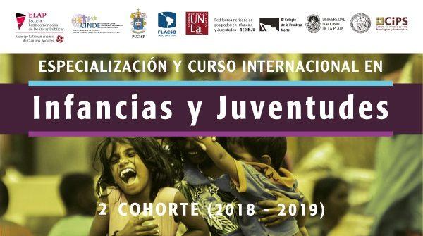 Especialización y Curso Internacional en Infancias y Juventudes (virtual)