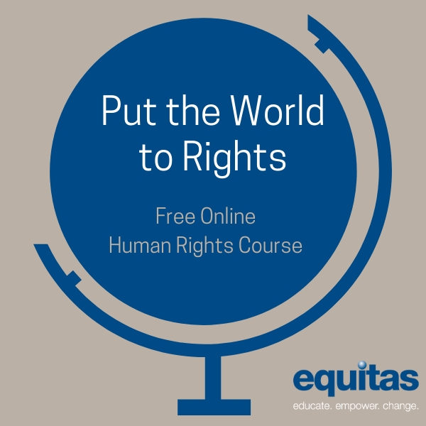 Curso gratuito en línea sobre Derechos Humanos
