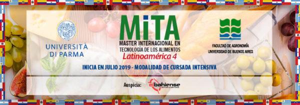 MITA LATAM IV: Máster Internacional en Tecnología de los Alimentos Latinoamérica