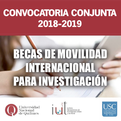 Convocatoria: becas de movilidad para investigación
