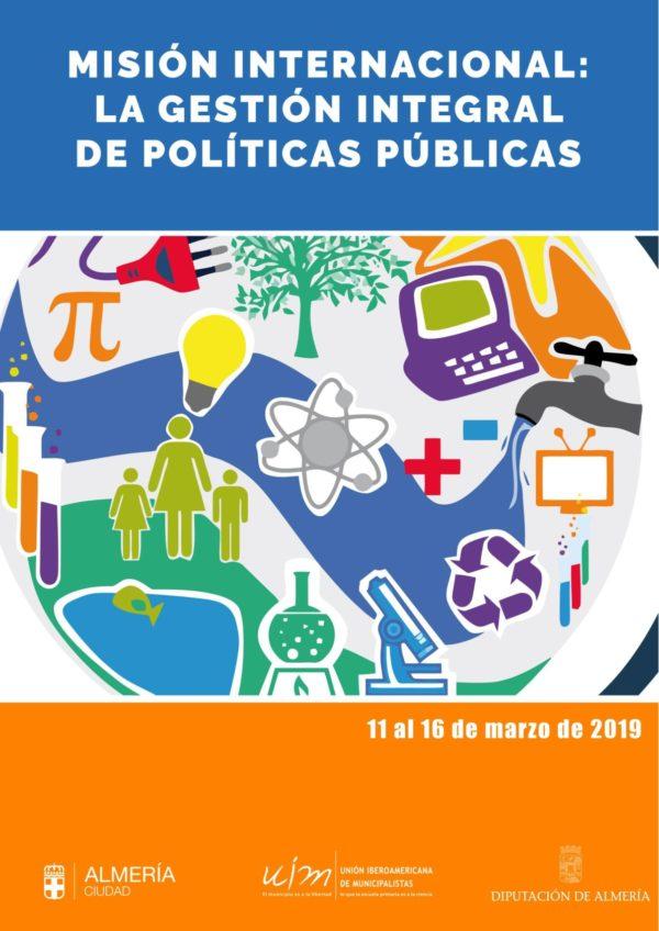 Misión internacional: La Gestión integral de políticas públicas