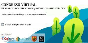 ¡PARTICIPA! del Congreso Virtual Desarrollo Sustentable y Desafíos Ambientales