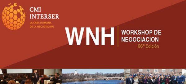 Workshop de negociación en Harvard - Junio 2019